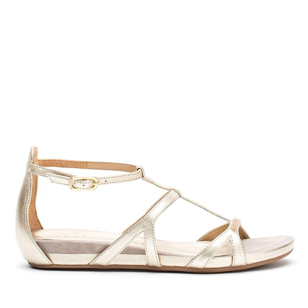 28d56d1c4 UNISA Platinum Swarovski sandal ALBILLO 19 LMT platino 2