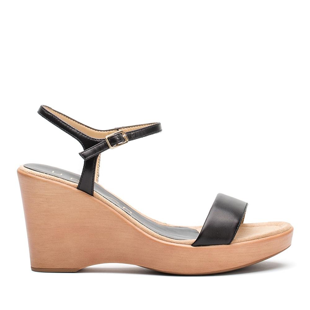 Mujer Zapatos Cuero de Napa Verano Confort Sandalias Tacón Cuña Puntera abierta Purpurina / Hebilla Blanco / Amarillo / Rosa 0r0lF