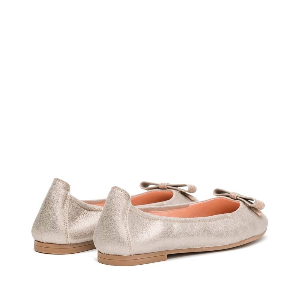 UNISA DOSIK MTS - Ballerina Mädchen breite Schleife, metallisiert ... c6000b1fcb
