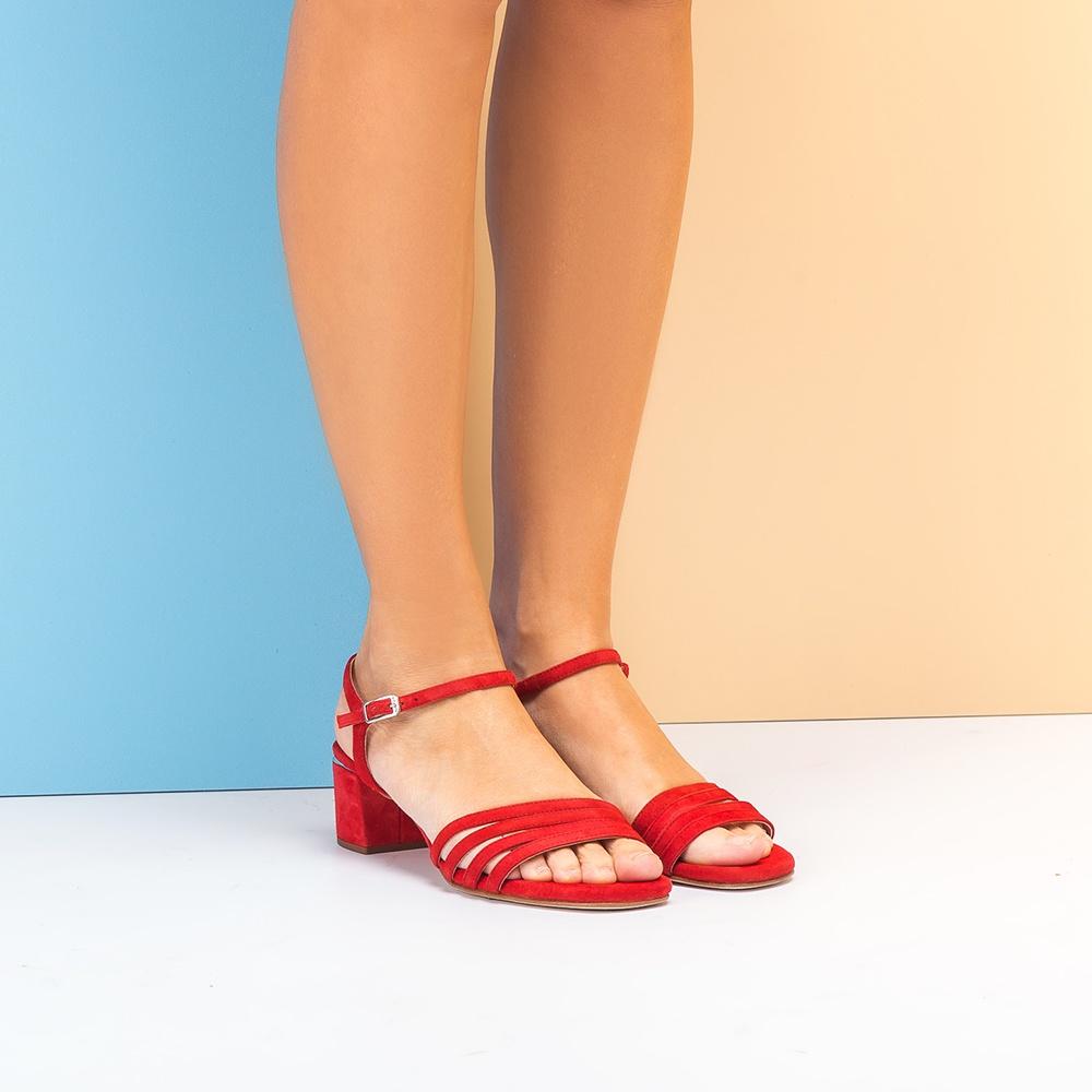 ca7ea3c34 Comprar Zapatos Rojos Mujer Online UNISA - Bolsos y Zapatos Salon rojos