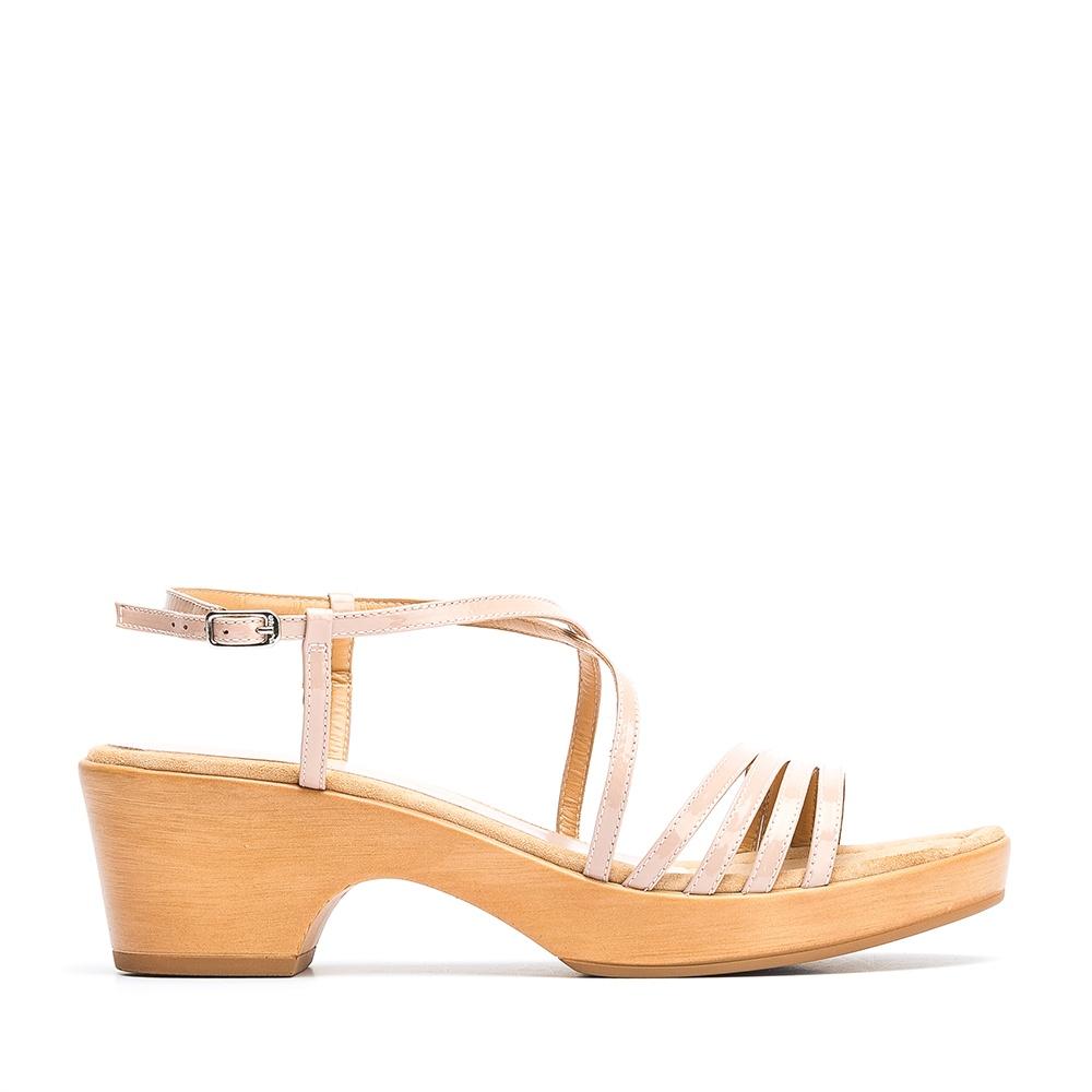 b789e1b59fe UNISA ICHIRO PA - Patent leather straps sandal