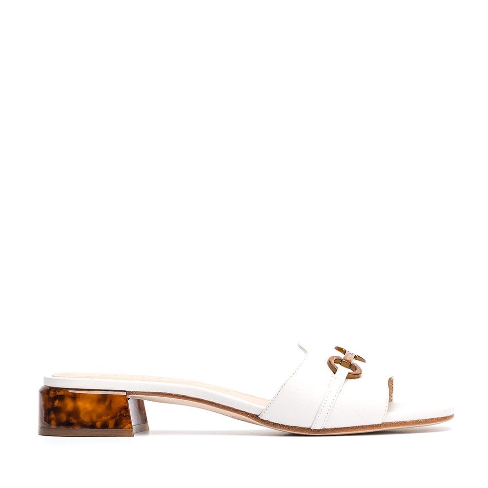 3289ed737d0b Ivory mule carey heel