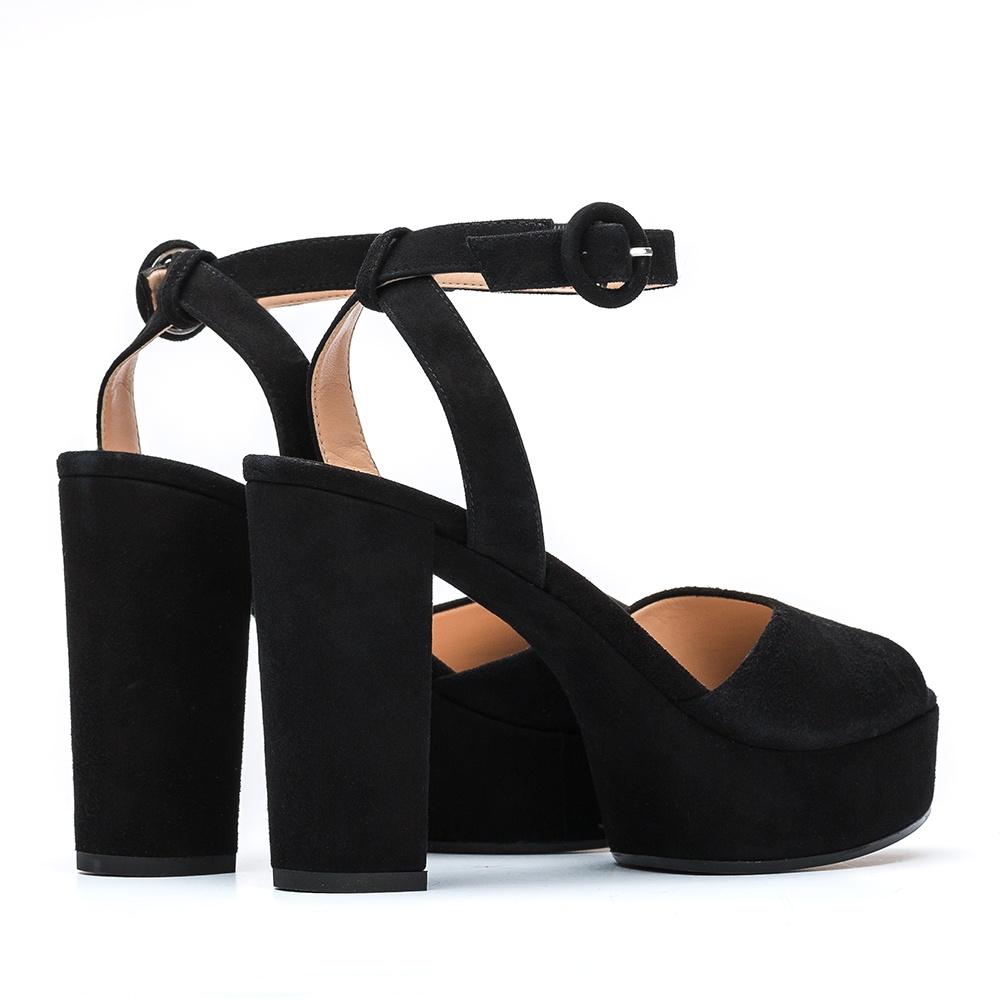 22962ac551 UNISA VENTA_19_KS - Black sandal platform Venta | Unisa heel sandals