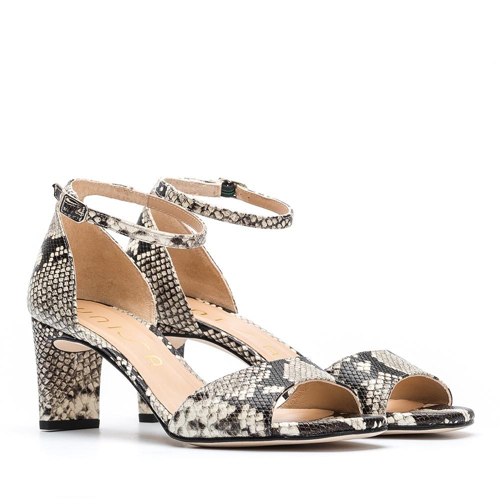 separation shoes 88194 d9bfd Slingback Schlangenprint