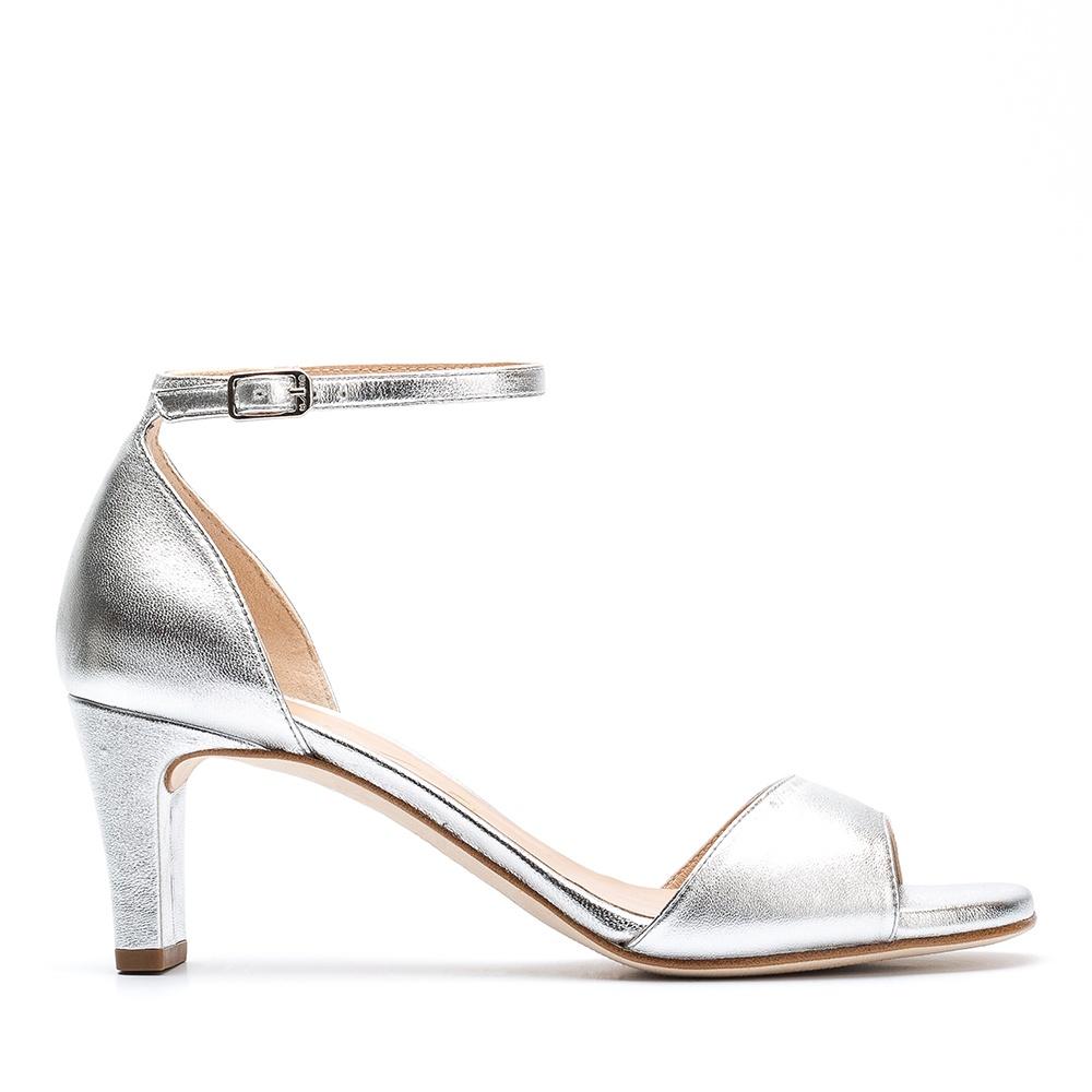 buy popular b11c2 57ea9 Fesselriemchen Sandale Versilberung