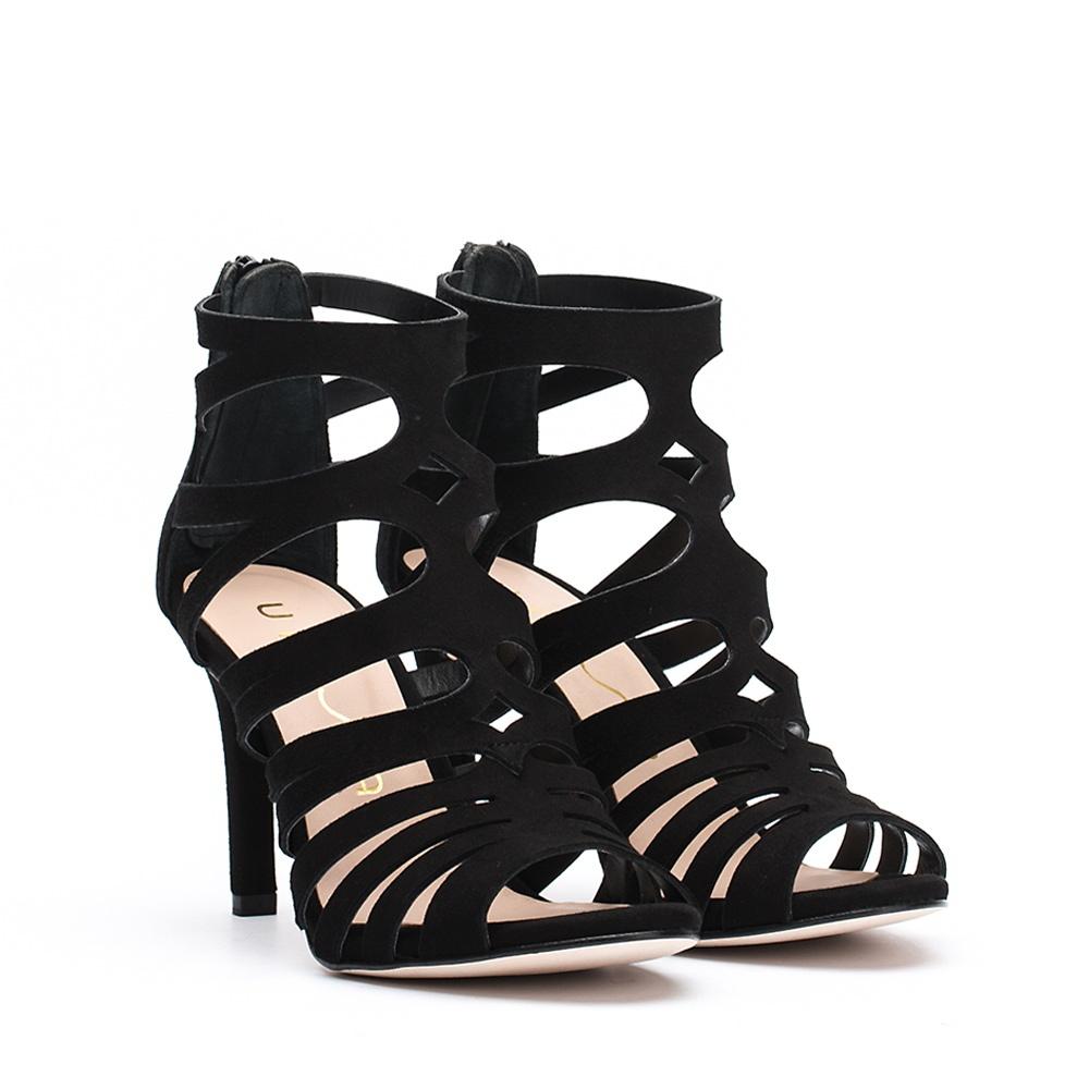 Unisa WANDEO_KS - High heeled sandals - black