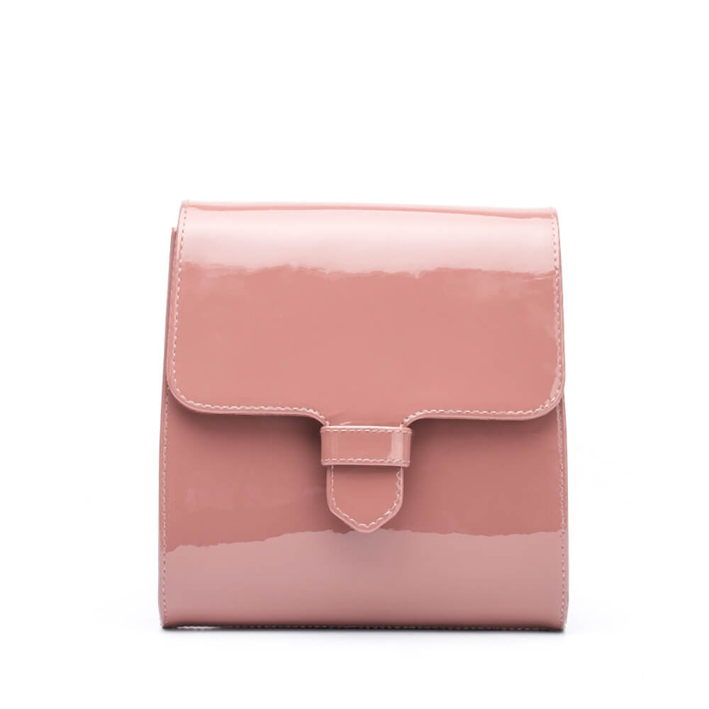 Small bags Zalara patent old pink woman winter